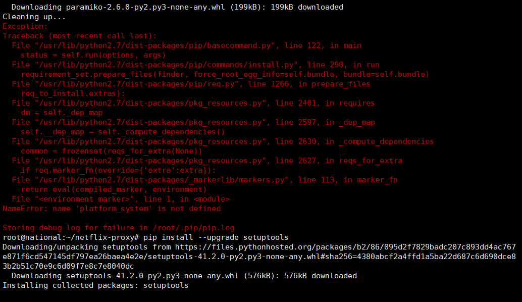 《netflix-proxy 修改管理密码》